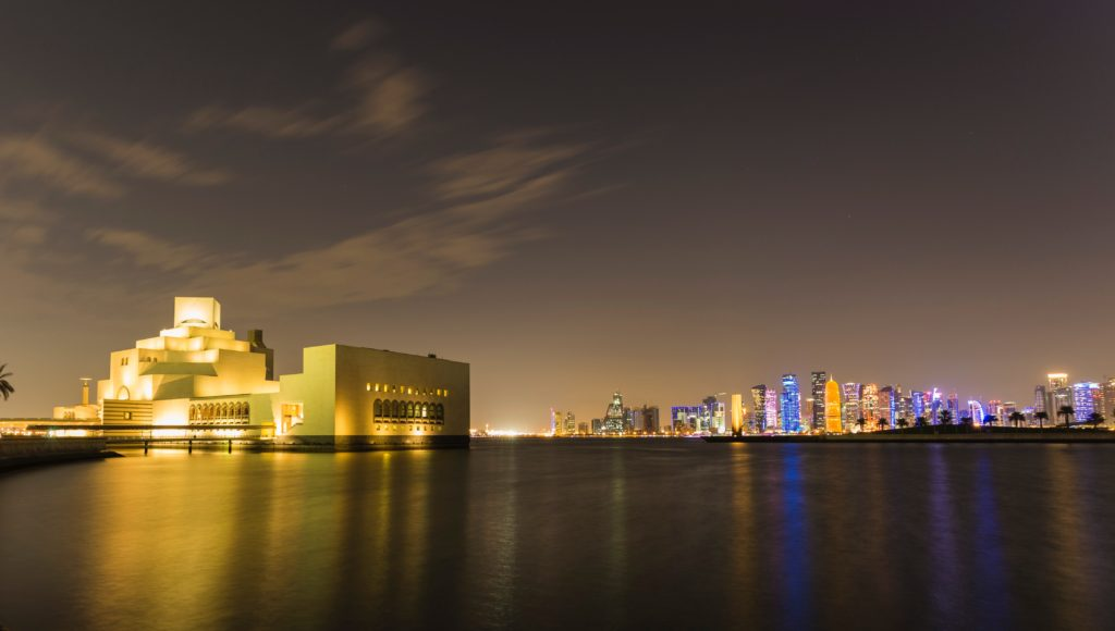 Properties for Sale Qatar - Doha By night