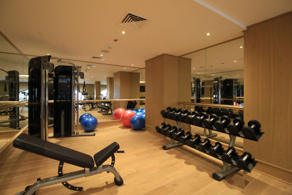 Apartments for rent Doha, Qatar- look for gym within residence image