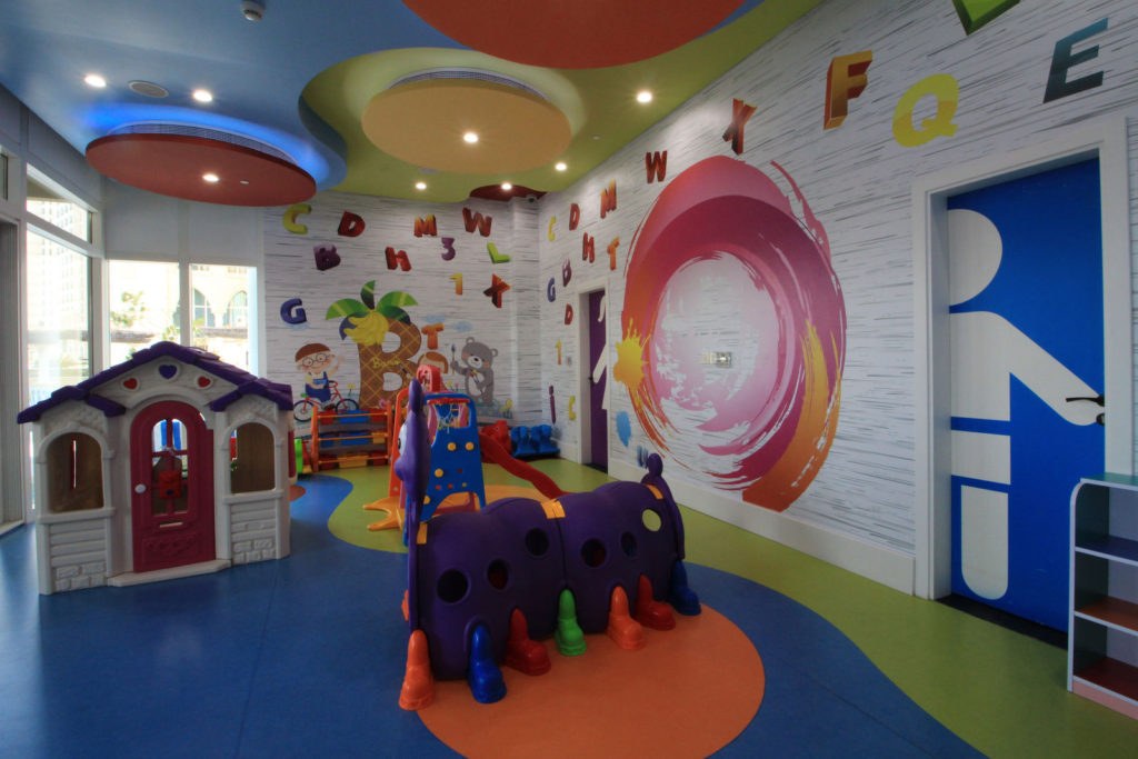 Children facility on flat for rent in Qatar image