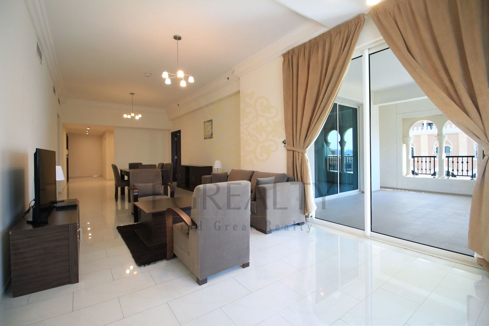 flat for rent Doha- the pearl- FGREALTY