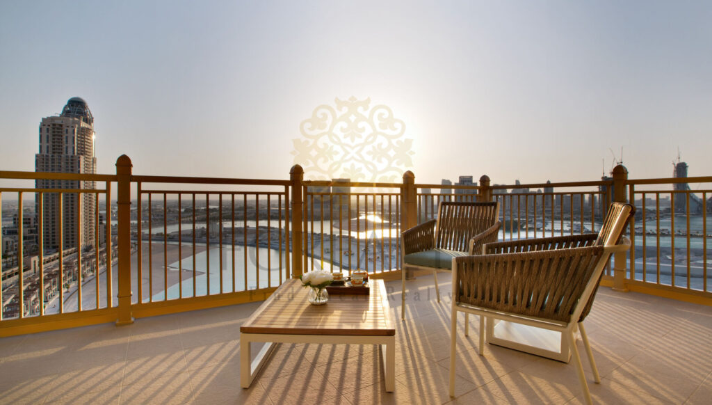 Apartment in Doha with a view - terrace