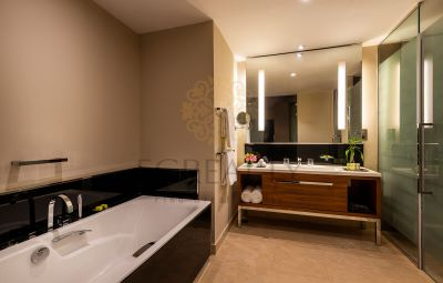 serviced bathroom in aparment for rent in Doha